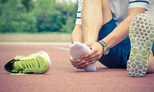 スポーツによる足の痛み