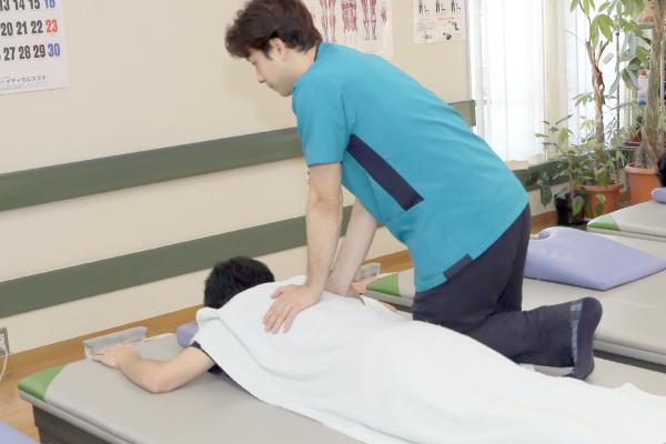 運動療法でのリハビリ